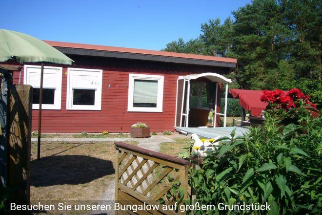 Ferienhaus in Starsow, bei Mirow, inkl. Ruderboot am Zotzensee(in ca.3 km Entfer