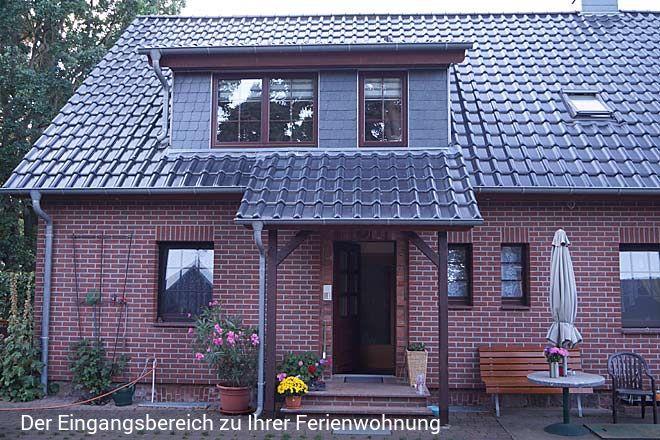 Gemütliche Ferienwohnung an der Müritz in Klink, mit separatem Eingang, nur 150-200 m vom Müritz-Str