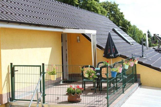 Ferienwohnung in Mirow, mit 2 komfortablen Schlafzimmern. Nähe Badestrand und Bootsvermietung (ca.20